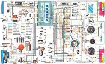 Схема электропроводки ВАЗ-2105