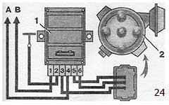 Снятие характеристик автоматического опережения зажигания