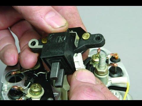 Замена регулятора напряжения на генераторе Ваз 2114-15