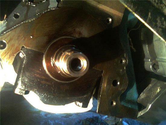 Замена передний сальник коленвала ВАЗ 2108
