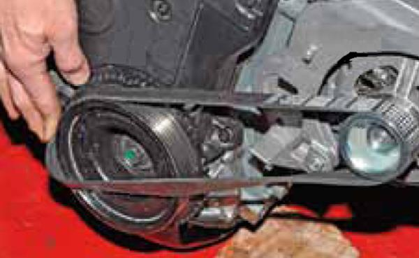 Замена ремня генератора на Ладе Гранте