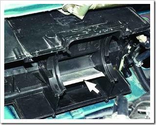 как установить радиатор отопителя в десятке