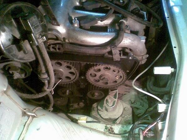 Замена помпы ВАЗ 2110, 2111, 2112 (1.6 л. 16 кл.) без снятия привода генератора