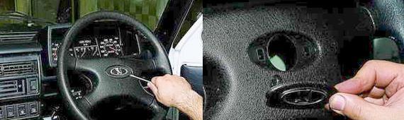 Как снять рулевое колесо Нива 2121 2131