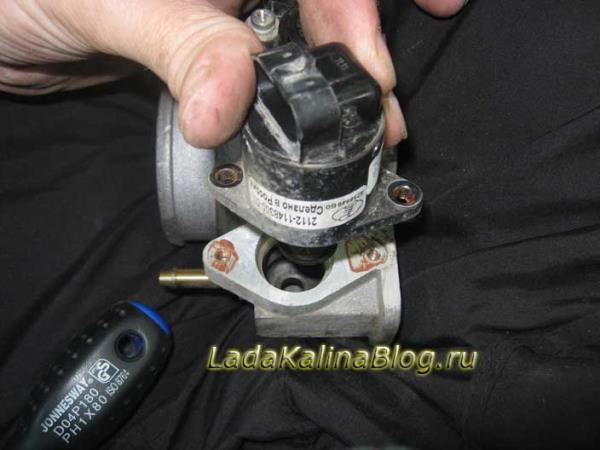 Замена регулятора холостого хода (РХХ) - Лада Калина Блог