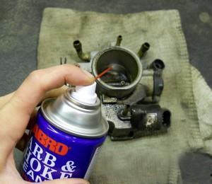 Фото чистки дроссельной заслонки ВАЗ 2110, vaz-remont.ru