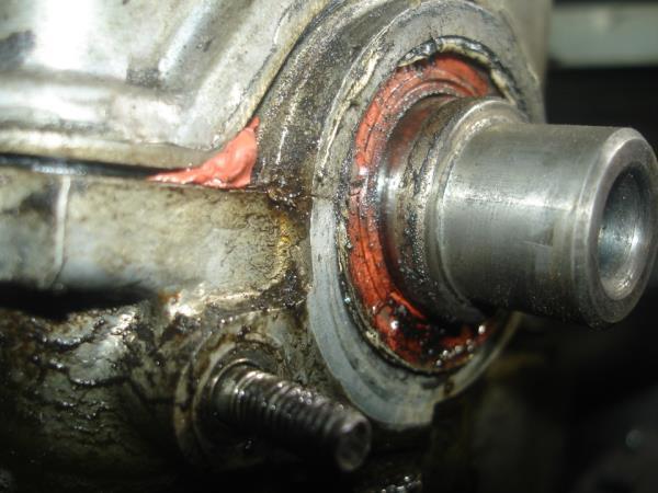 Протечка масла через сальник распредвала двигателя Лада Гранта (ВАЗ 2190)