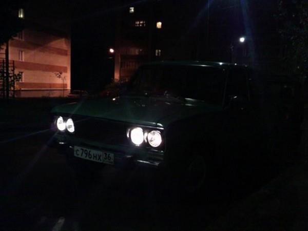 Перенос габаритных огней со штатных подфарников в штатные фары ВАЗ 2106