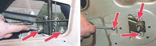 снятие стеклоподъемников и стекла передних дверей ваз 2108