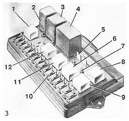 Монтажный блок (крышка снята)
