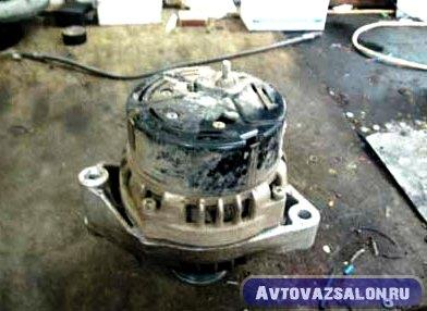 Ремонт генератора ВАЗ 2110, 2111, 2112 - видео инструкция