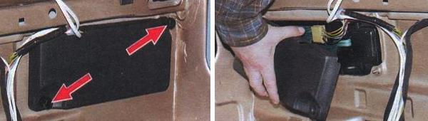 Снятие и замена задних фонарей на автомобиле ваз 2109