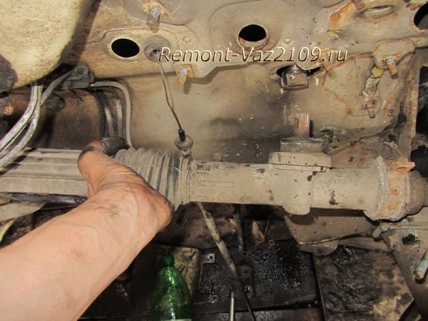 замена рулевой рейки на ВАЗ 2109-2108