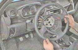 Снятие рулевого колеса Лада Гранта