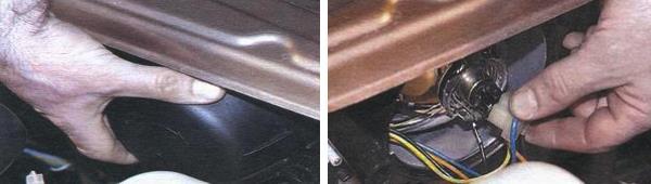 Замена ламп ближнего и дальнего света на автомобиле ваз 2109
