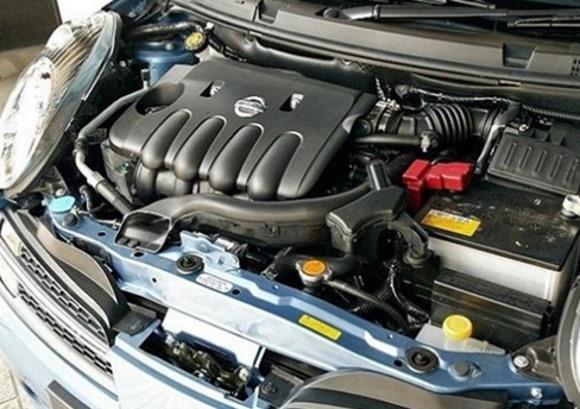 Двигатель HR16DE под каптом