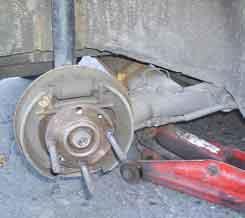 статья про Установка задних дисковых тормозов на Самару