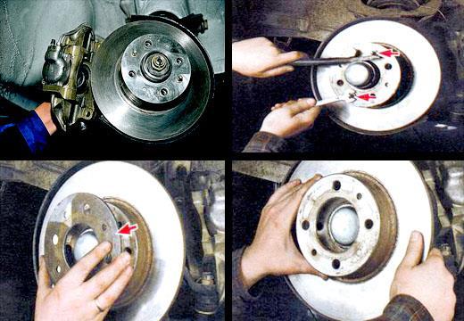 Как снять тормозные диски Ваз 2106