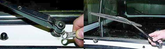Как снять очиститель ветрового стекла Нива 2121 2131