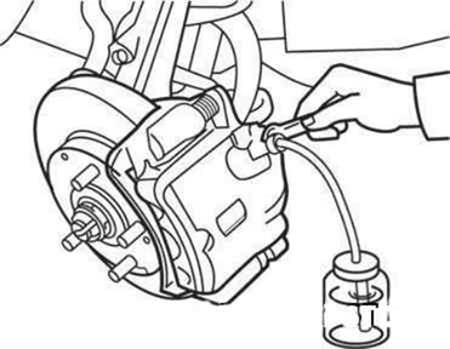 Прокачка тормозов для Лада Гранта (удаление воздуха из тормозной системы)
