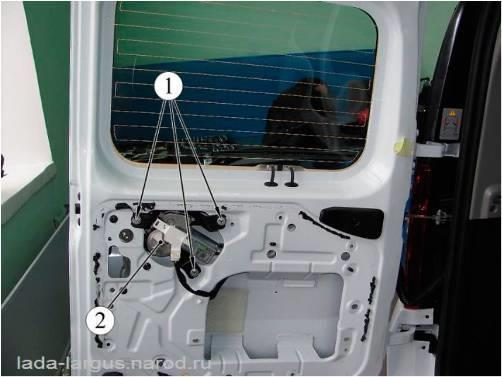 Крепление стеклоочистителя Lada Largus