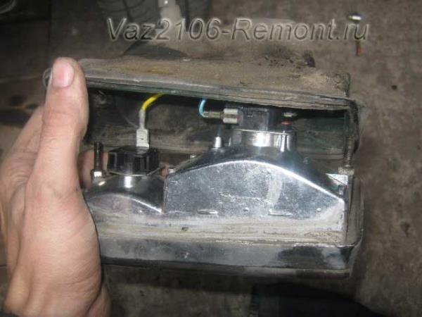 передние фонари на ВАЗ 2106