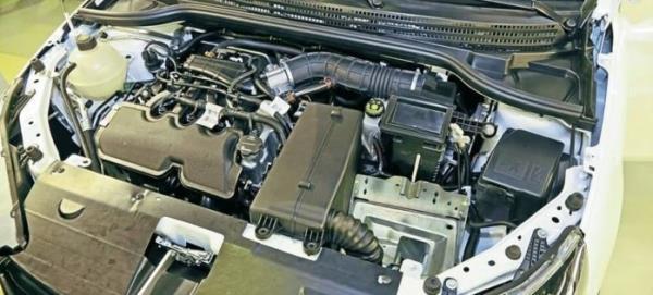Двигатель 21129 106л.с. Лада Веста