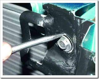 Замена тяги привода замка капота ваз 2110