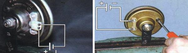 Проверка и регулировка звукового сигнала ваз 2109