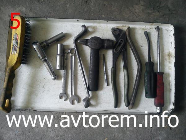 Инструмент для замены тормозных дисков ваз 2106