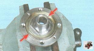Замена подшипника ступицы переднего колеса на автомобиле Лада Гранта