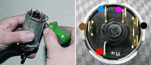 Как поменять контактную группу замка зажигания ВАЗ 2101-2107 своими руками.