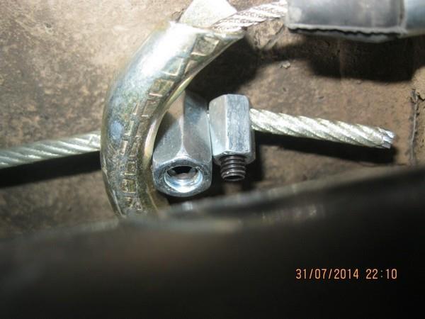 Ремонт ручного тормоза на ВАЗ 2108