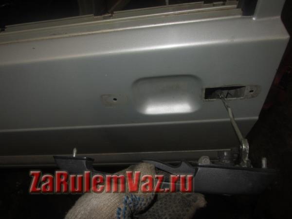 замена ручки двери наружной на ВАЗ 2114 и 2115