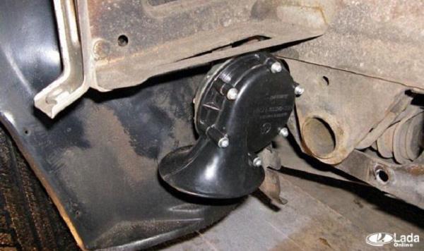 Как поставить сигналы Волги на автомобиль LADA