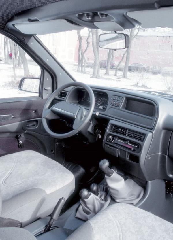 Салон ВАЗ-2120 «Надежда» (Lada-2120)