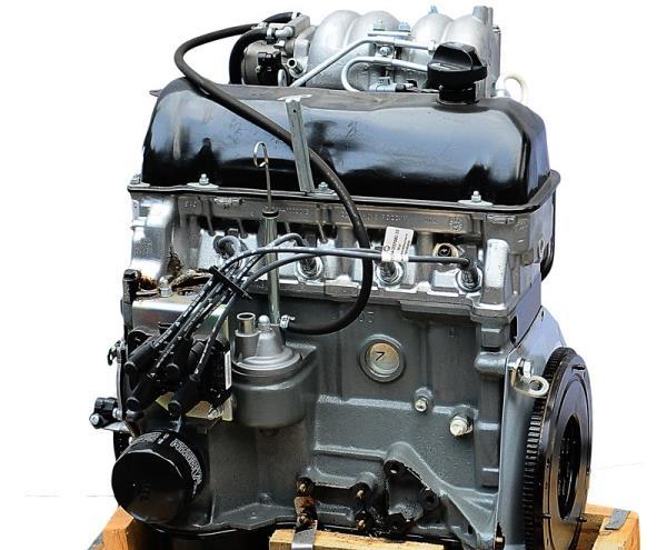 фото двигателя ваз 2107-инжектор