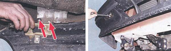 замена переднего бампера ваз 2108