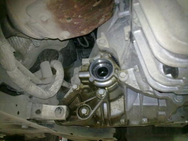 Замена сальника привода форд фокус 3