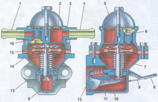 Замена бензонасоса ваз 2110 инжектор