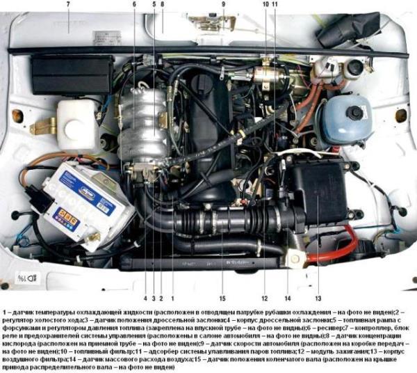 Насос ВАЗ 2107 инжектор