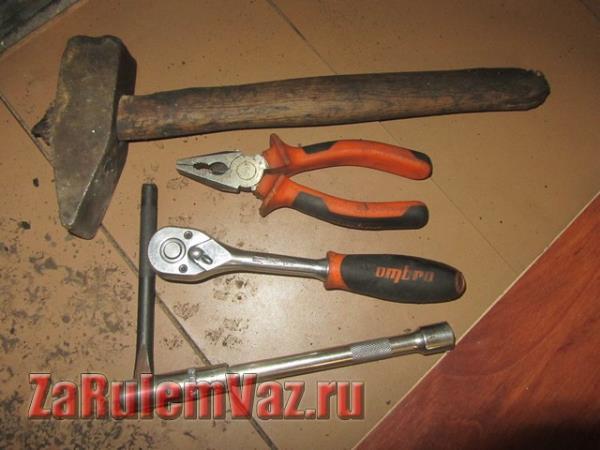 инструмент для замены рулевой колонки на ВАЗ 2114 и 2115