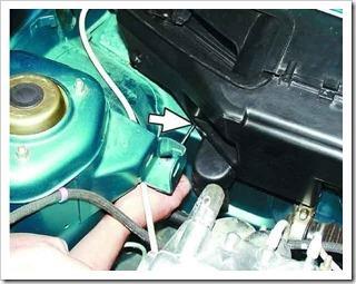 Снятие и установка радиатора отопителя на ВАЗ 2110