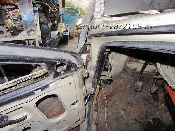 замена передней и задней двери на ВАЗ 2109-2108