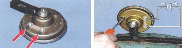 регулировка звукового сигнала ваз 2108