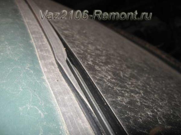 замена заднего стекла на ВАЗ 2106