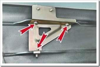 как поменять передний бампер на четырке