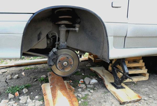 Замена подшипника ступицы ВАЗ 2115 своими руками