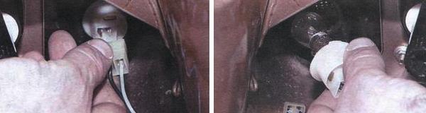 Замена ламп передних поворотников ваз 2109