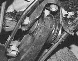 Замена балки задней подвески